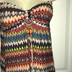 Love strapless dress size small
